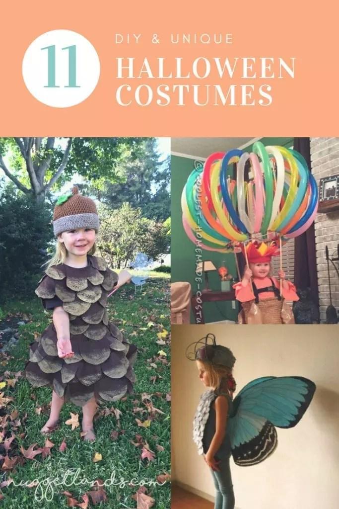 Unique DIY Halloween Costumes