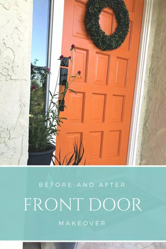 Front Door Makeover – From Drab to Feng Shui Fab