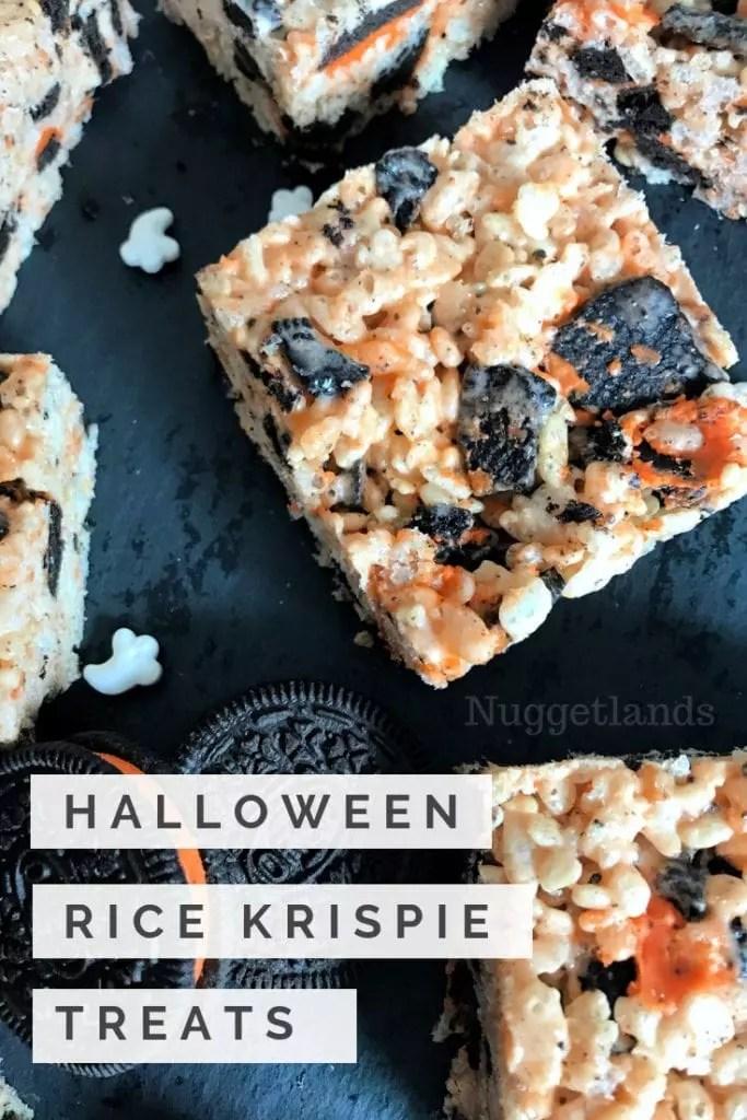 Halloween Rice Krispie Treats Everyone Will Love