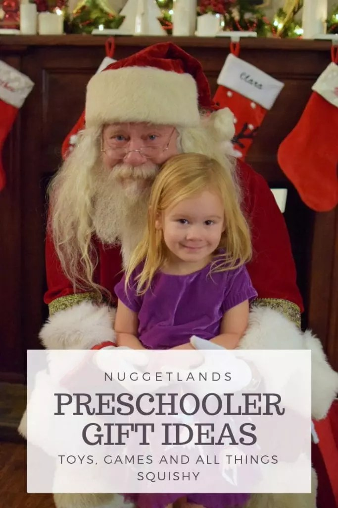 Toy Christmas gift ideas for your preschooler. Perfect gifts that encourage imagination and play for kids, all available from Amazon.  #Christmas #preschool #giftguide