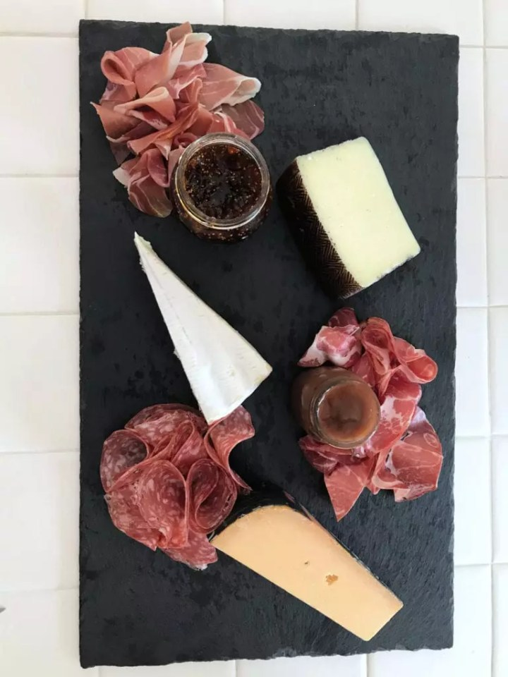 Meat and Cheese Tray Step 2