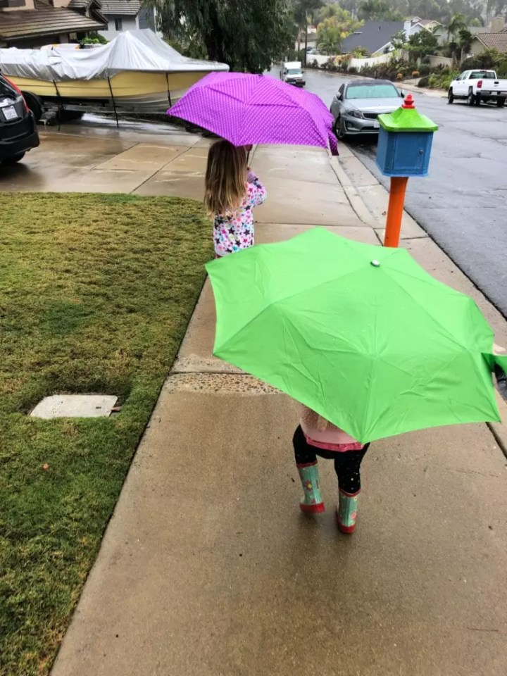 Things to do on a rainy day. Fun activities for kids of all ages from crafts to art to outings that can turn their gloomy day to awesome.