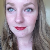 MAC Brave Red Lipstick Review