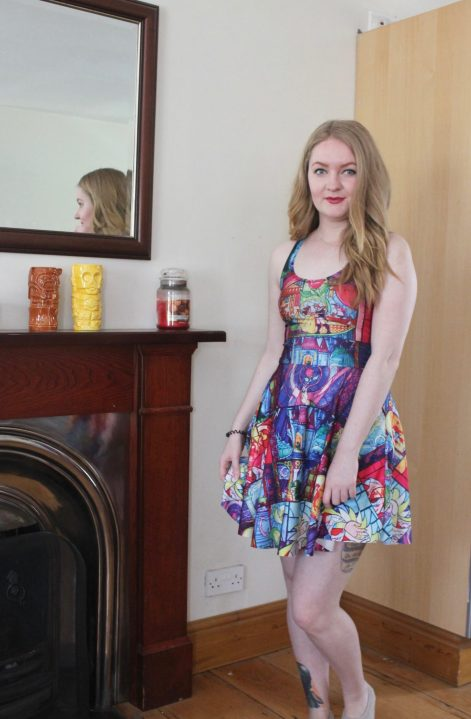 Beauty and The Beast Black Milk Clothing Disney Dress Collection