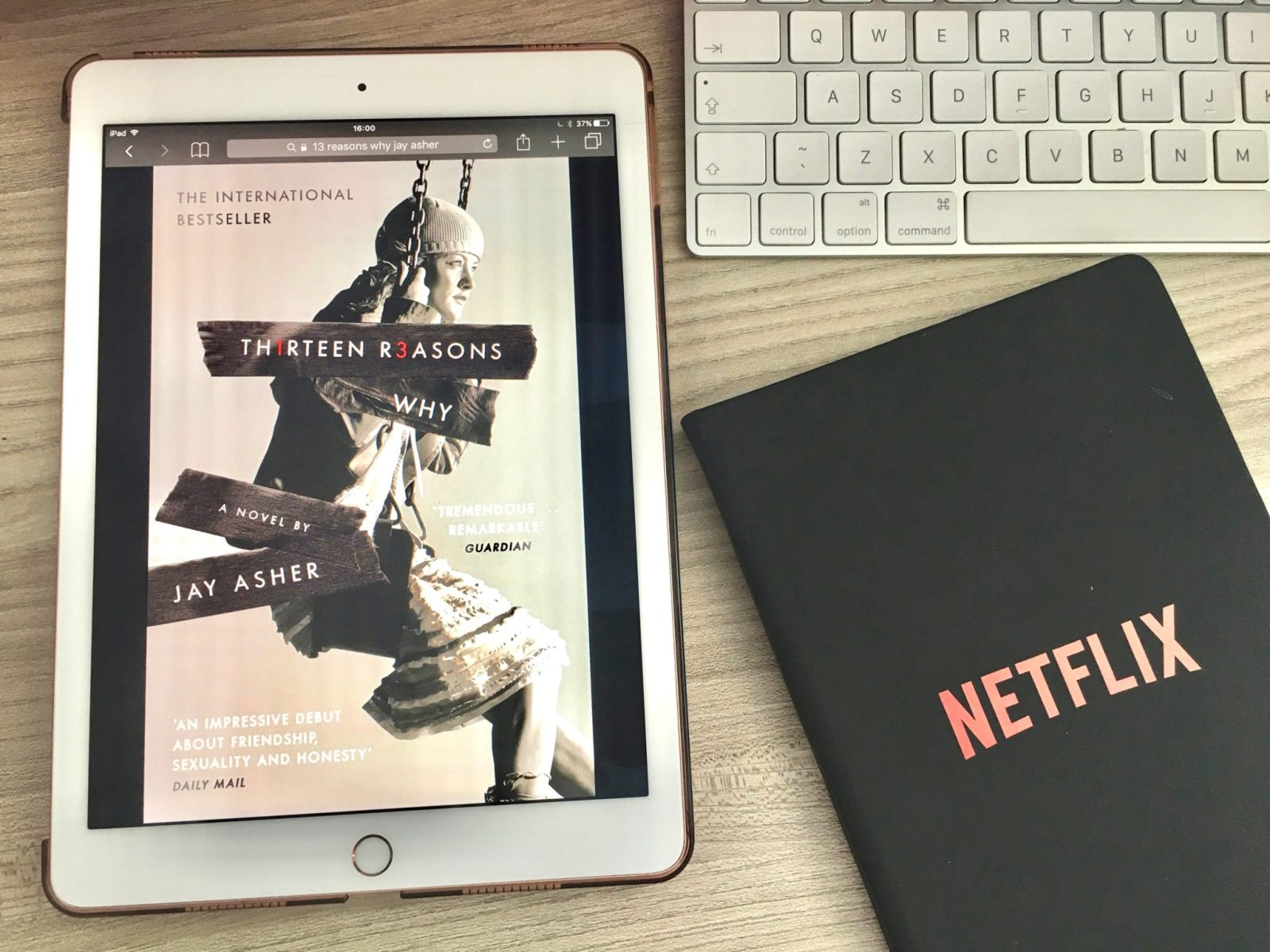13 Reasons Why by Jay Asher Netflix
