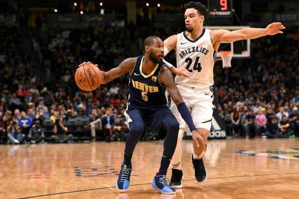 Image result for Nuggets vs grizzlies