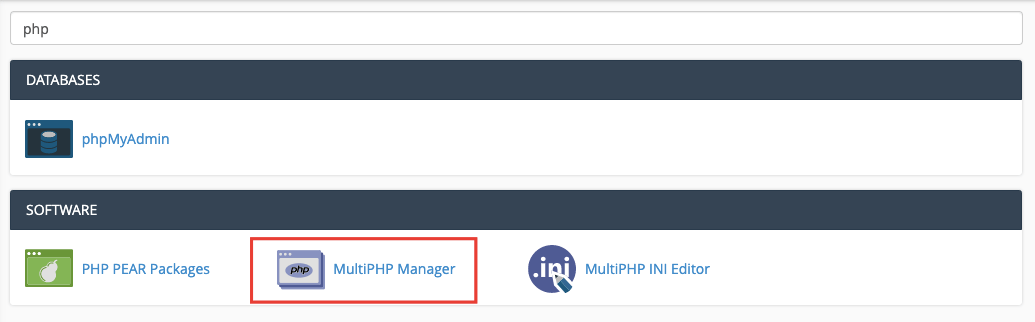 Multi PHP Manager