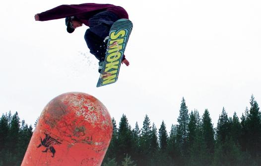 Smokin' Snowboards