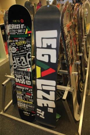 Legalize it: Academy Snowboards Propaganda Series Raises Awarness