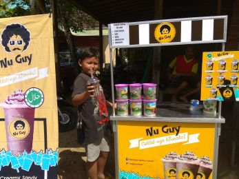 Nu Guy minuman jaman now, produk franchise murah.