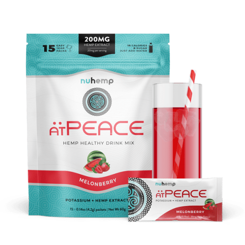 Nuhemp atPEACE hemp extract calming drink mix
