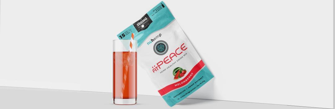 atPEACE Hemp Extract + Potassium Calming Drink Mix