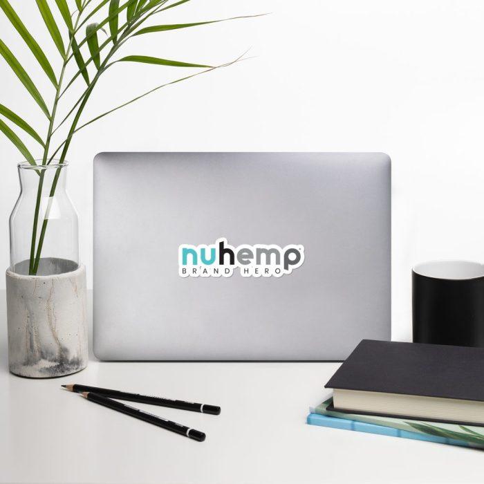 Huhemp Logo Stickers