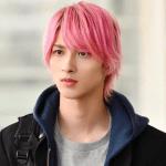 横浜流星,まつ毛,唇,ピンク,画像