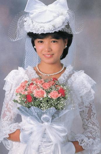 堀ちえみ,画像,全盛期,かわいい,花嫁衣装は誰が着る