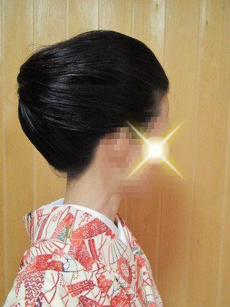 着物の髪型 日常に取り入れやすい小さめの結い上げアレンジ