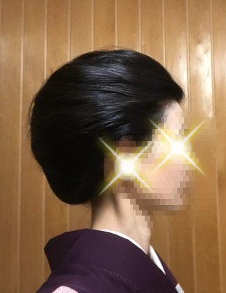 自分で出来る和髪・着物簡単セルフヘアアレンジ・耳かくしスタイル