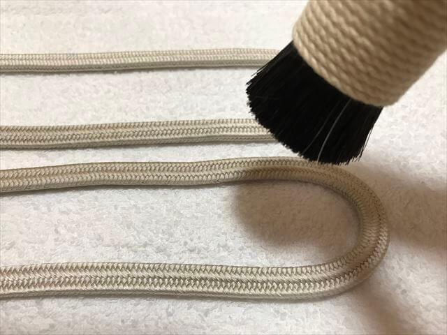 帯締めのお手入・汚れや染料の色移りを自分で綺麗にする方法