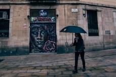 Alkemia Tattoo and Piercing, located at Plaça de Sant Miquel in the Gothic quarter in Barcelona.