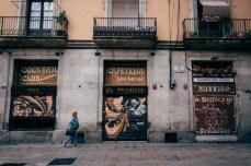 El Paraigua, located at Plaça de Sant Miquel in the Gothic quarter in Barcelona.