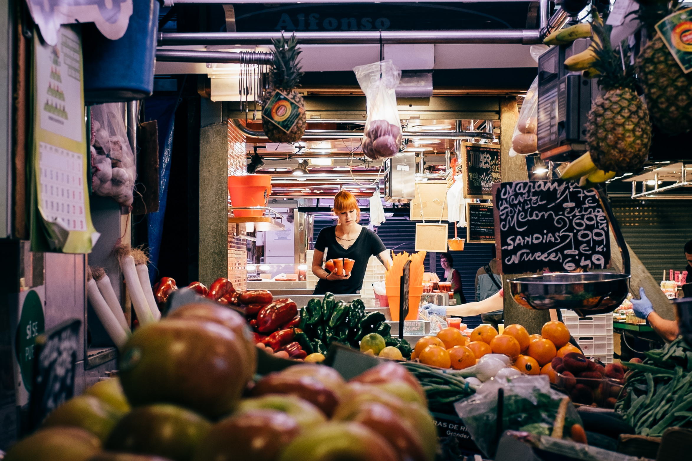 Photo Essay Spanish Food Markets At The Heart Of Two