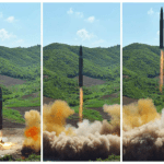 North Korea Missile Test Curtsey of Rodong Simun