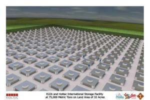 ELEA/Holtec storage ground view