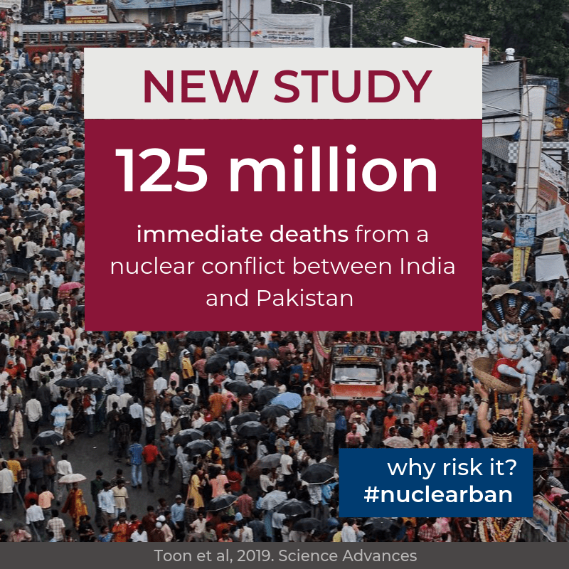 New research: regional nuclear war will cause catastrophic global consequences, Pakistan, india
