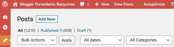 1.000 Tulisan di Blog Ini - 1000 artikel di blog