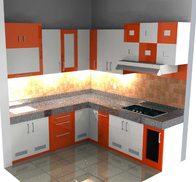 Gambar Kitchen Set Minimalis