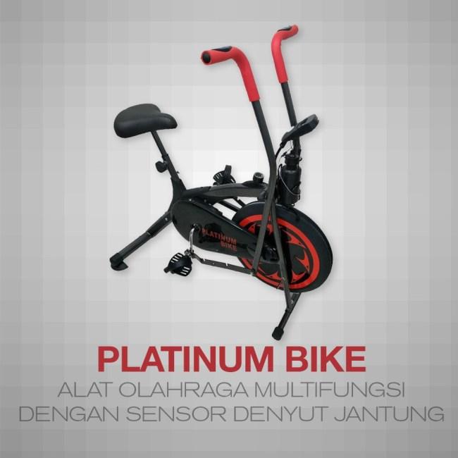 Tetap Sehat dan Bugar Tanpa Harus Keluar Rumah Menggunakan Platinum Bike - Alat Olahraga Multifungsi Platinum Bike