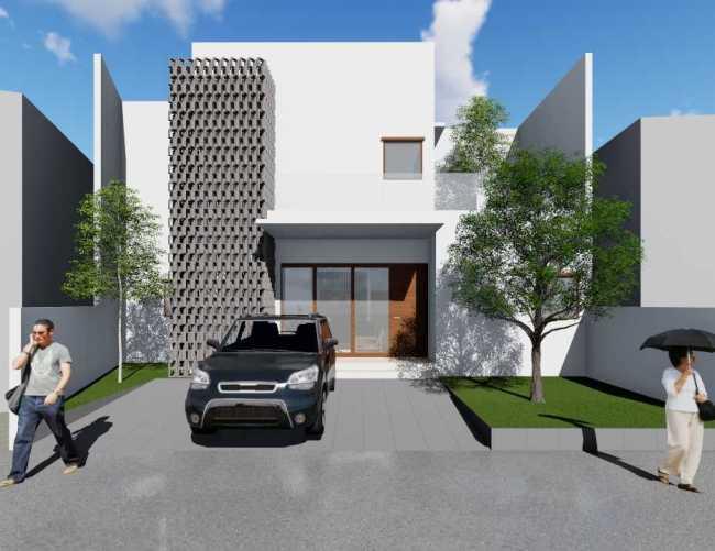 Desain Denah Rumah Minimalis 2021 - Desain rumah minimalis 3 kamar tidur