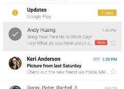 Beberapa Aplikasi Email Terbaik untuk Android - Gmail