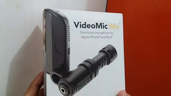 Microphone untuk YouTuber Rode VideoMic Me