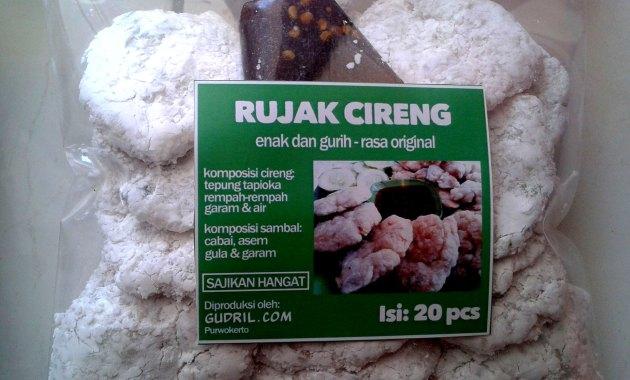 Rujak Cireng Gudril Purwokerto