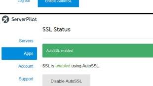 SSL Gratis dari ServerPilot! - Setting SSL Gratis ServerPilot