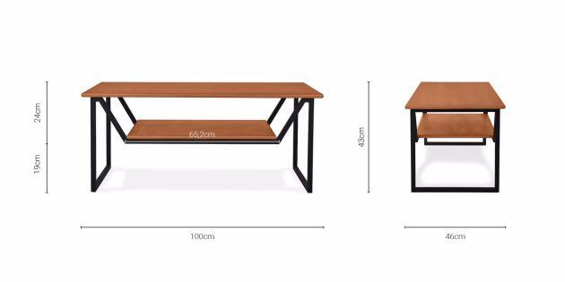 Harga Set Meja Kursi Ruang Tamu Model Minimalis Modern 2020 - Ukuran Meja Elis Coltrane Coffee Table
