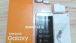 Samsung Galaxy J5: Review Singkat dan Spesifikasi - Unboxing Samsung Galaxy J5