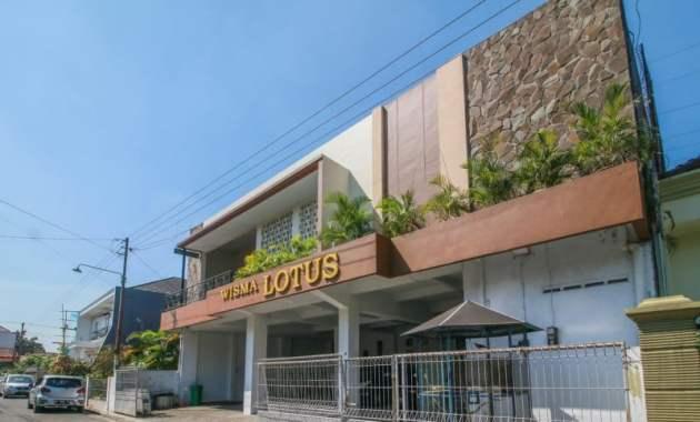 Rekomendasi Hotel di Purwokerto dari Bintang 5 Hingga Kelas Melati - Wisma Lotus Purwokerto