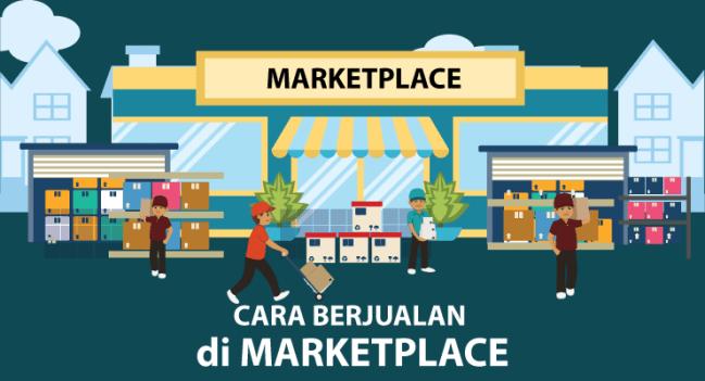 Cara Agar Jualan di Marketplace Mudah Laris - berjualan di marketplace