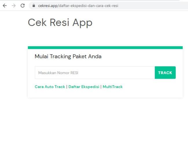 Lacak Paket Lebih Mudah dengan 7 Cara Cek Resi SiCepat Ini, Offline dan Online - cek resi app