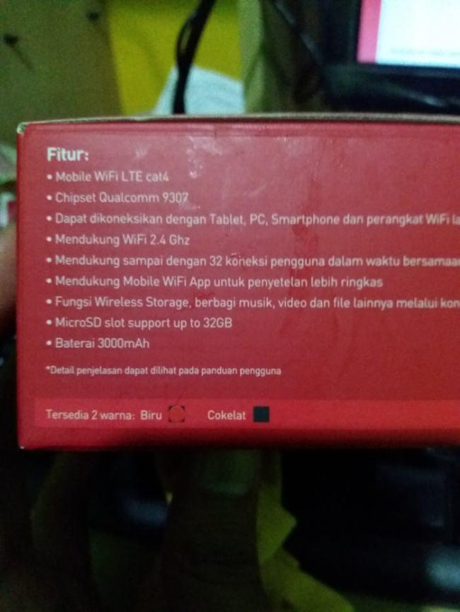 fitur modem mifi smartfren m3z