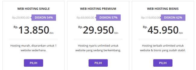 Hostinger Indonesia - Web Hosting Terjangkau untuk Blogger Indonesia - paket hosting