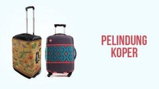 Luggage Cover, Solusi Mudah Melindungi Koper Anda - pelindung koper