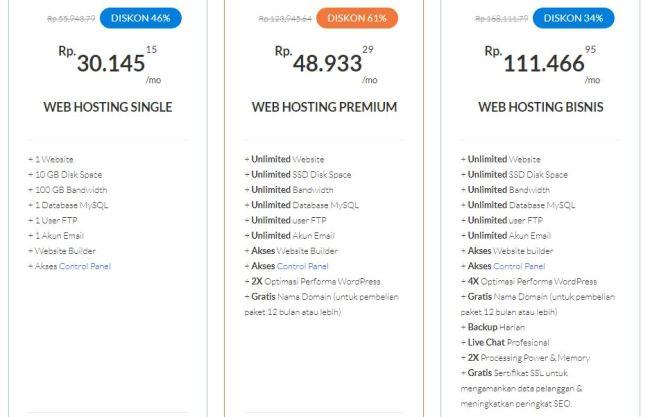 Review Web Hosting Indonesia Terbaru - Hosting24.com - pilihan paket hosting24