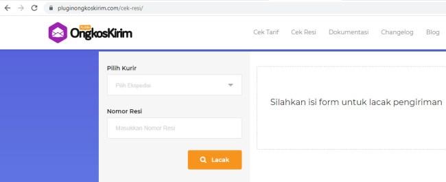 Lacak Paket Lebih Mudah dengan 7 Cara Cek Resi SiCepat Ini, Offline dan Online - plugin ongkos kirim