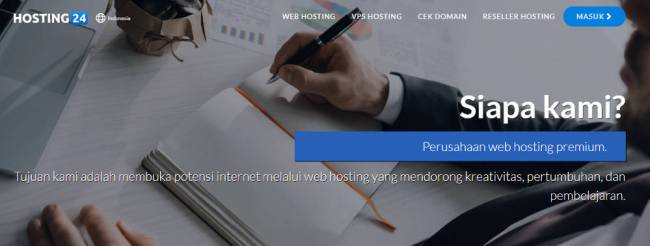 Review Web Hosting Indonesia Terbaru - Hosting24.com - premium web hosting hosting24