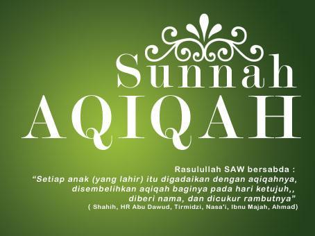 Ketentuan Hewan Aqiqah Menurut Rasulullah - sunnah aqiqah