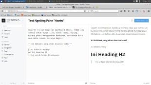 """Nyoba Ngeblog Pake """"Hantu"""" - test ngeblog pake ghost"""