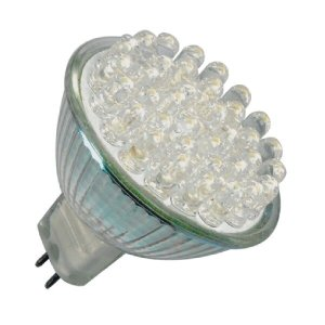 MR16 LED Spot 38 Led Warm wit